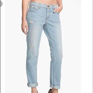 J brand Aidan meadow boyfriend jeans 25